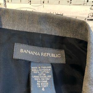 Banana Republic Jackets & Coats - Banana republic gray blazer
